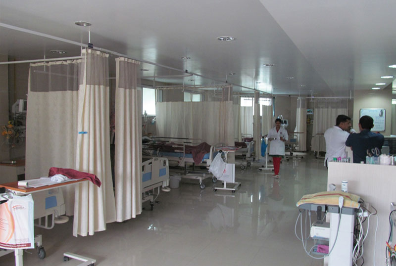 28 Bedded ICU